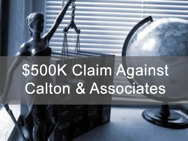 $500K Claim Against Calton & Associates for GPB Capital Sales