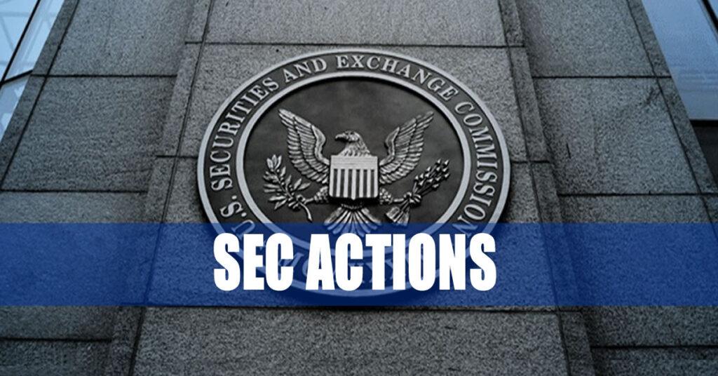 SEC Actions